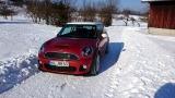 Mr. Bassett Im Schnee