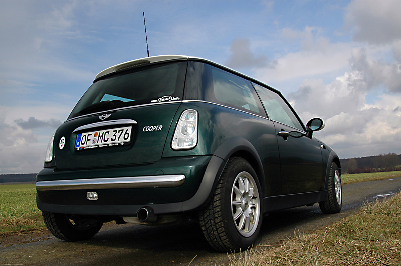 mini mini cooper british green welche r ckleuchten. Black Bedroom Furniture Sets. Home Design Ideas